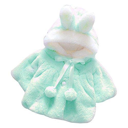 69f2da366 Muxika Fashion Baby Girl Fur Winter Warm Coat Cloak Jacket Thick ...