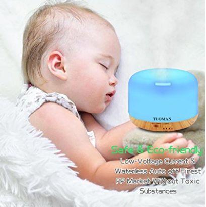 TUOMAN Aromatherapy Essential Oil Nebulizer