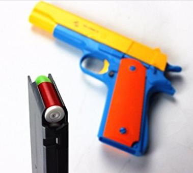 Children's Colorful Toy Gun Mauser Toy Pistol