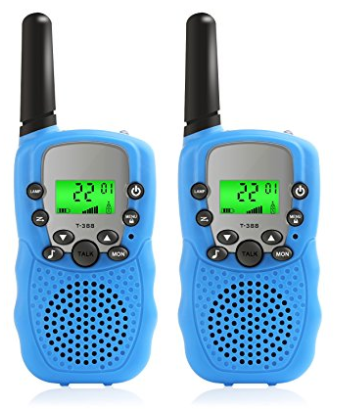 Walkie Talkies for Kids, 2 Pack FRS GMRS Wireless Handheld Two-Way Radio Transceiver